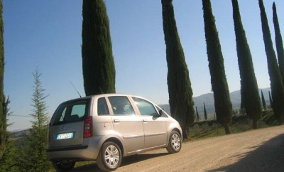 Fiat Idea Diesel: von hinten, Seite, Seitenansicht