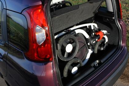 Fiat Panda 0.9: Kofferraum, trunk, boot