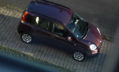 Fiat Panda 0.9: Seitenansicht, von der Seite