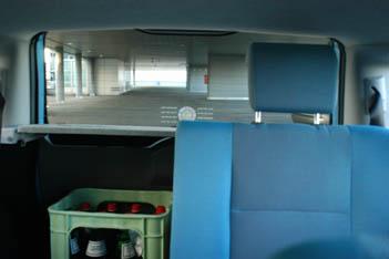 Fiat Panda Diesel Test: Innenraum, hinten sitzen