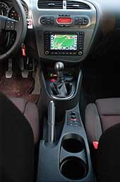 Seat Leon 2.0 Innenraum, Cockpit