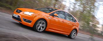 Ford Focus ST. Leon Test