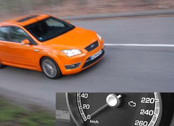 Ford Focus ST, Test
