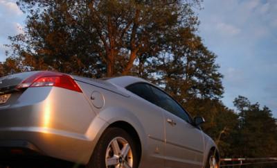 Ford Focus CC Test: Heck, Seite, Dach