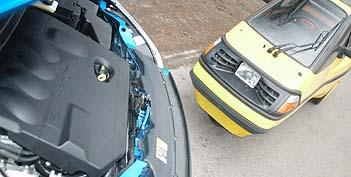 Ford Focus TDCi Test: Dieselmotor, engine