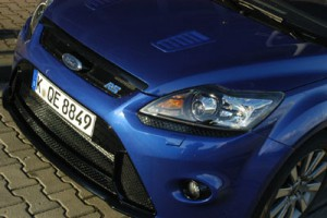 Ford Focus RS 305 PS: Front, Grill, Scheinwerfer