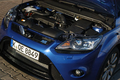 Ford Focus RS Test: 305 PS 5-Zylinder Motor