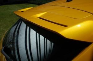 Ford Focus ST: Spoiler, Heckspoiler