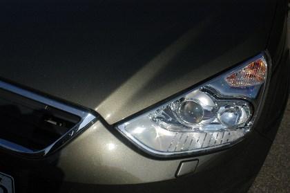 Ford Galaxy mit Dieselmotor Testbericht: Front, Scheinwerfer
