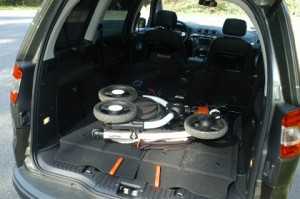 Ford Galaxy Test: Kofferraum, trunk, boot