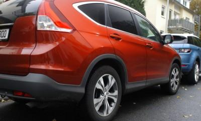 Honda CRV Diesel 4WD Test: Heck, Seite