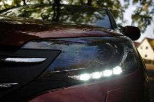 Honda CRV mit Dieselmotor Test: Tagfahrlicht