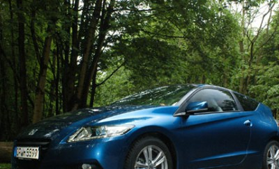 Honda CRZ Hybrid Test: vorne, Seite