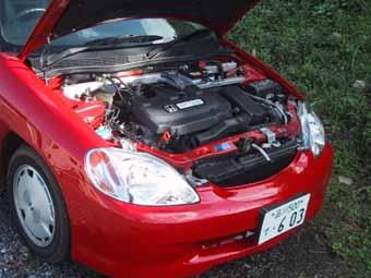 Honda Insight Coupe: Motor, engine, Hybridmotor