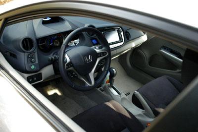 Honda Insight Hybrid: Cockpit, Lenkrad, Innenraum