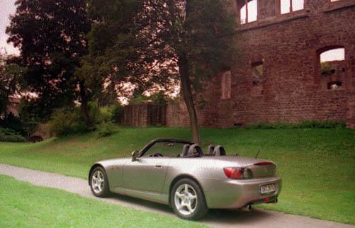 Honda S2000 Vergleichstest: hinten, Seite