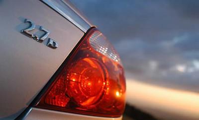 Jaguar S-Type 2.7 Diesel Test: Heck