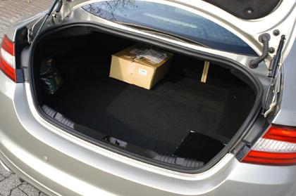 Jaguar XF Diesel S: Kofferraum, trunk, boot