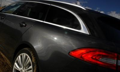 Jaguar XF Sportbrake Test: Heck