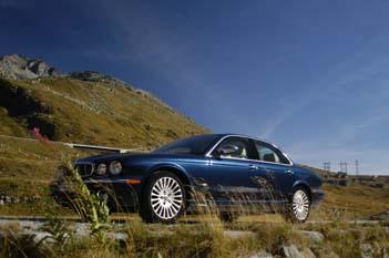 Jaguar XJ 2.7 Diesel Test: Seite, vorne