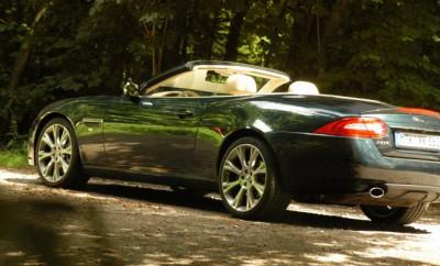 Jaguar XK Cabrio 5.0 offen