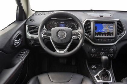 Jeep Cherokee 2014: Cockpit, Innenraum, Lenkrad