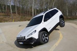 Neuer Jeep Cherokee: offroad Test