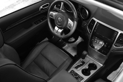 Jeep Grand Cherokee Test: Cockpit