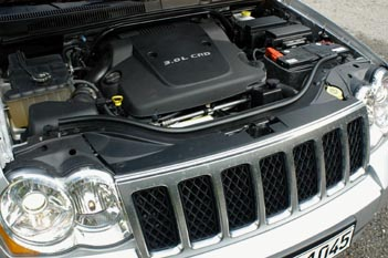 Jeep Grand Cherokee Dieselmotor Test