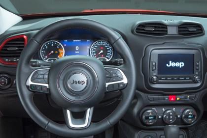 Neuer Renegade: Cockpit, Lenkrad
