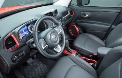 Jeep Renegade 2014 Test: Cockpit
