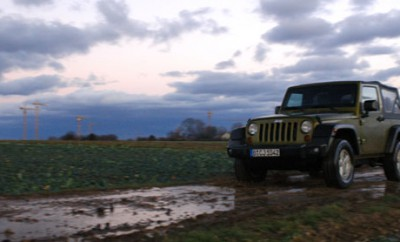 Jeep Wrangler CRD Diesel Test