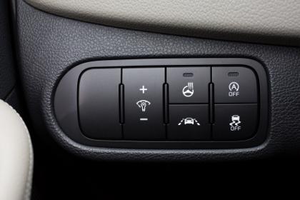Kia Carens 1.7 Diesel: Innenraum