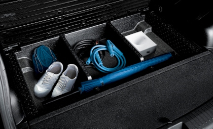 Kia Carens mit Dieselmotor im Test: Kofferraum