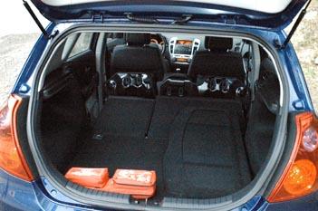 Kia Ceed Diesel: Kofferraum, trunk, laden