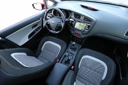 Kia Ceed Kombi: Sitze, Stoff, Cockpit, Innenraum