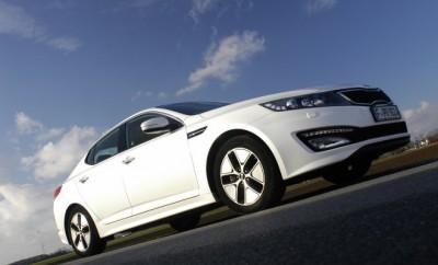 Kia Optima Hybrid: Karosserie, Seite, seitenansicht