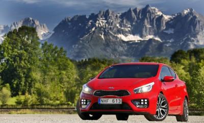 Kia Pro Ceed GT Fahrbericht: Front, Seite