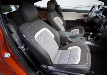 Kia Pro Ceed: Sitze, Vordersitze, Stoff