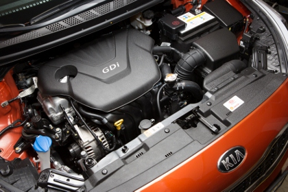 Kia Pro Ceed: Motor, Benzinmotor, GDI engine