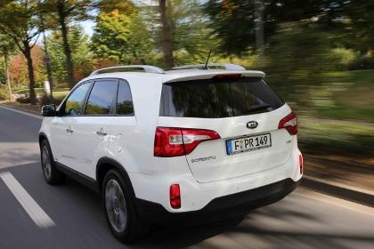 Kia Sorento 2.2 2WD Testbericht: Heck