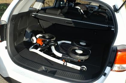 Kia Sorento 2.2 Diesel: Kofferraum, trunk, boot, laden