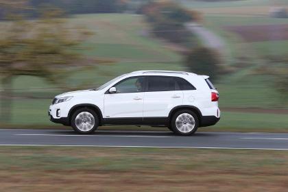 Kia Sorento Diesel 4wd Test