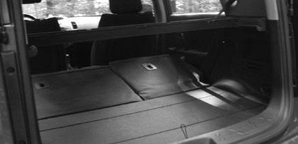 Kia Soul Benziner: Kofferraum, laden, trunk, boot