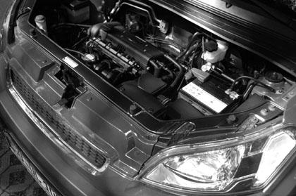 Kia Soul 1.6 Test: Benzinmotor, Benziner, engine