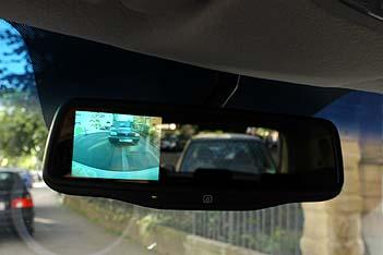 Kia Soul Diesel Test: Kamera im Spiegel, Spiegelkamera