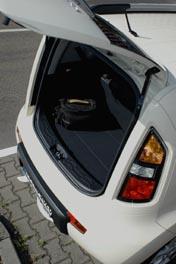 Kia Soul Test: Kofferraum, trunk, boot, Heckklappe