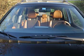 Kia Sportage 2007 Test: Interior, Sitze