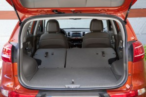 Kia Sportage: Kofferraum, laden, trunk, boot