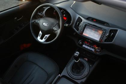 Kia Sportage Diesel TEstbericht: Cockpit
